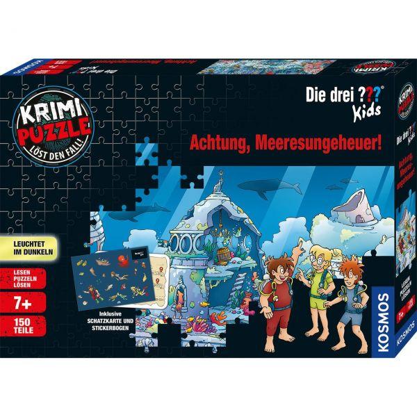 KOSMOS 680664 - Krimi-Puzzle - Die drei ??? Kids - Achtung, Meeresungeheuer!