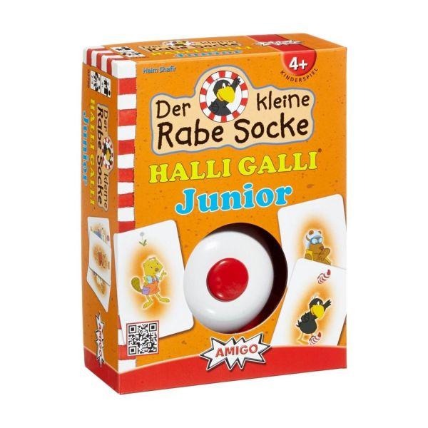 AMIGO 02790 - Kinderspiele - Rabe Socke Halli Galli Junior