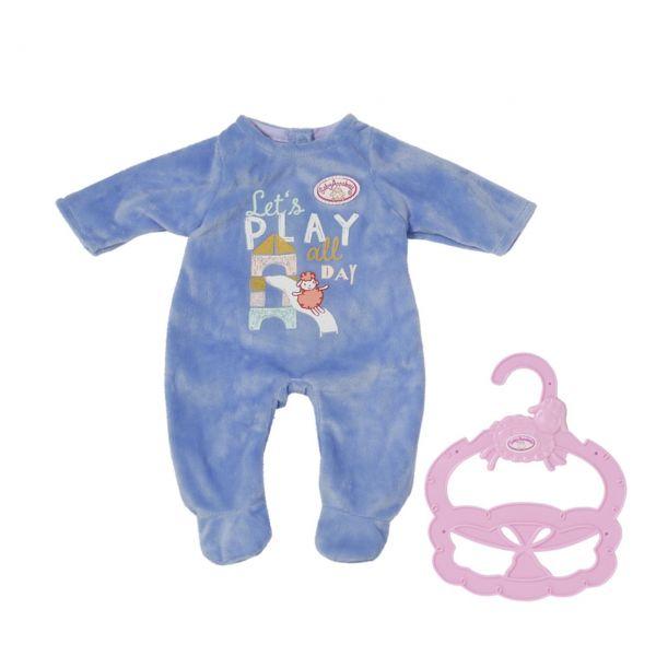 Zapf Creation 706244 - BABY Annabell® - Little Strampler Blau, 36cm