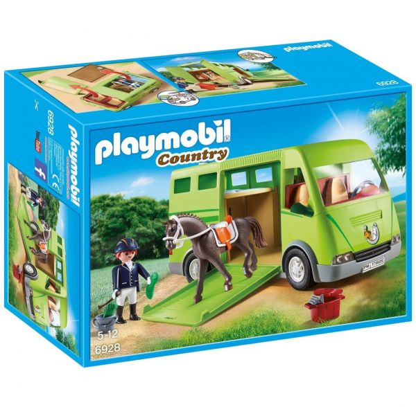 PLAYMOBIL 6928 - Country Reiterhof - Pferdetransporter