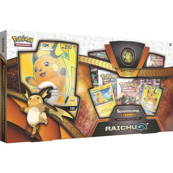 POKÉMON 25978 - Schimmernde Legenden - Spezial Kollektion Raichu-GX