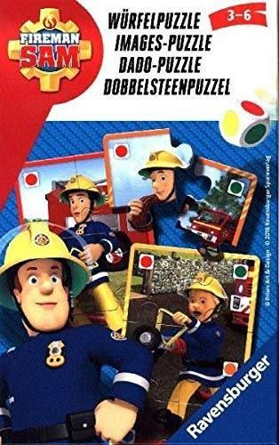 RAVENSBURGER 23464 - Mitbringspiel - Feuerwehrmann Sam, Würfelpuzzle