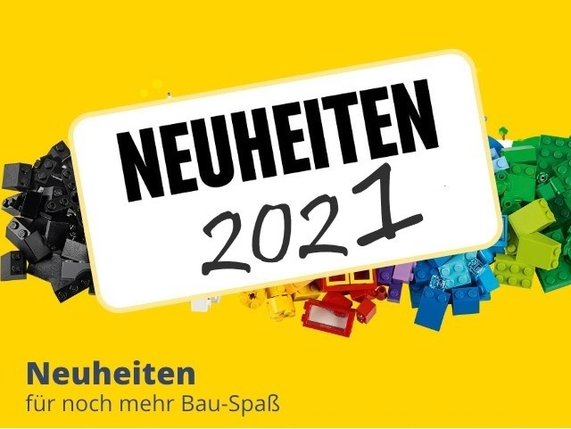 LEGO Neuheiten 2021 bei Spielzeugwelten entdecken