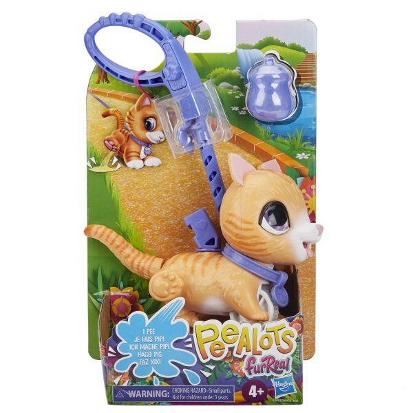 HASBRO E8955 - FurReal - Peealots, Kleine Racker getigerte Katze