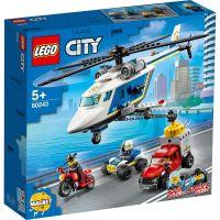 LEGO 60243 - City Polizei - Verfolgungsjagd mit dem Polizeihubschrauber