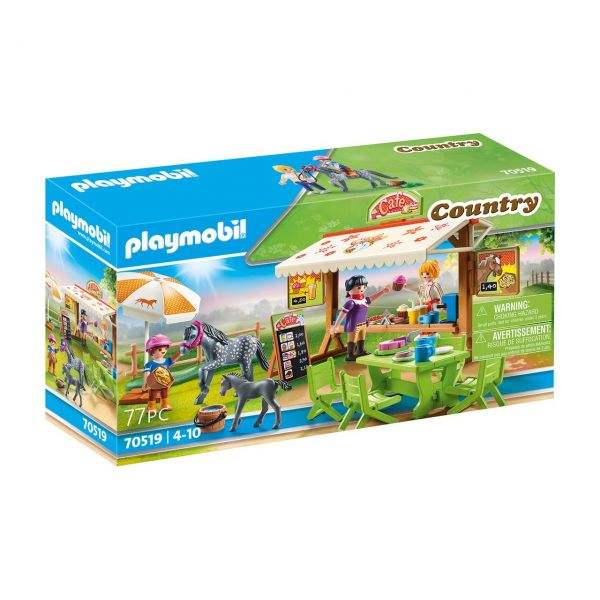 PLAYMOBIL 70519 - Country Ponyhof - Pony-Café