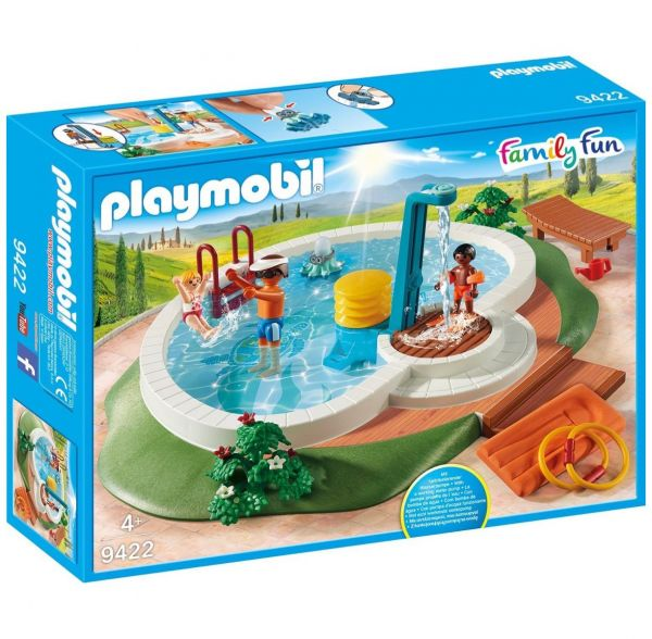PLAYMOBIL 9422 - Family Fun Ferienvilla - Swimmingpool