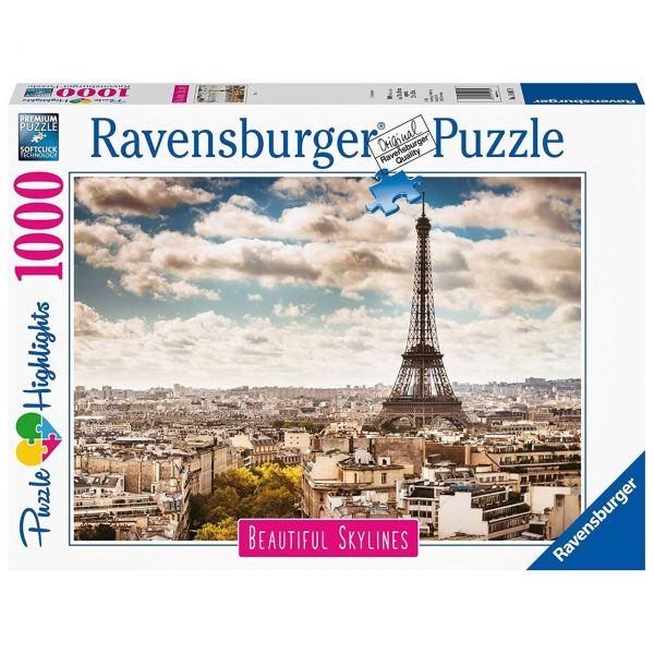 RAVENSBURGER 14087 - Puzzle - Paris, 1000 Teile