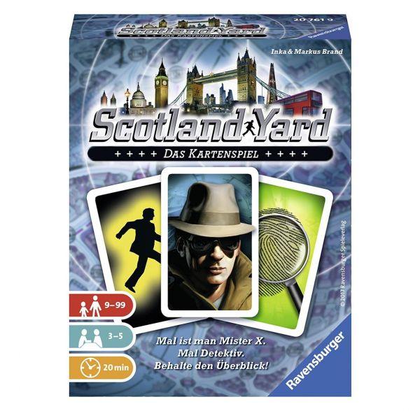 RAVENSBURGER 20761 - Kartenspiel - Scotland Yard