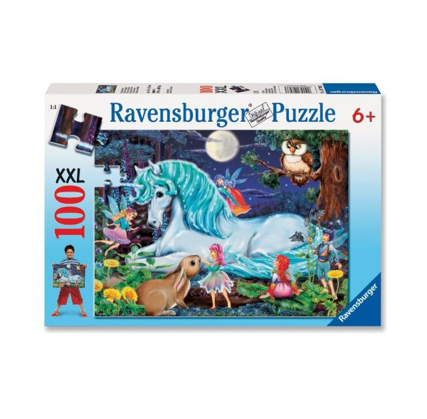 RAVENSBURGER 10793 - Puzzle - Im Zauberwald, 100 Teile