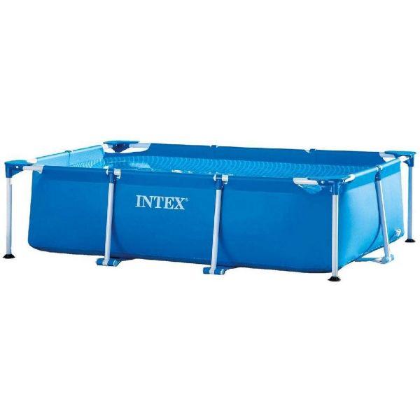 INTEX 28271NP - Planschbecken - Rectangular Frame Pool, 260x160x65cm