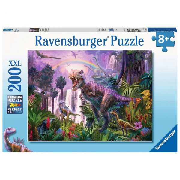 RAVENSBURGER 12892 - Puzzle - Dinosaurierland, 200 Teile