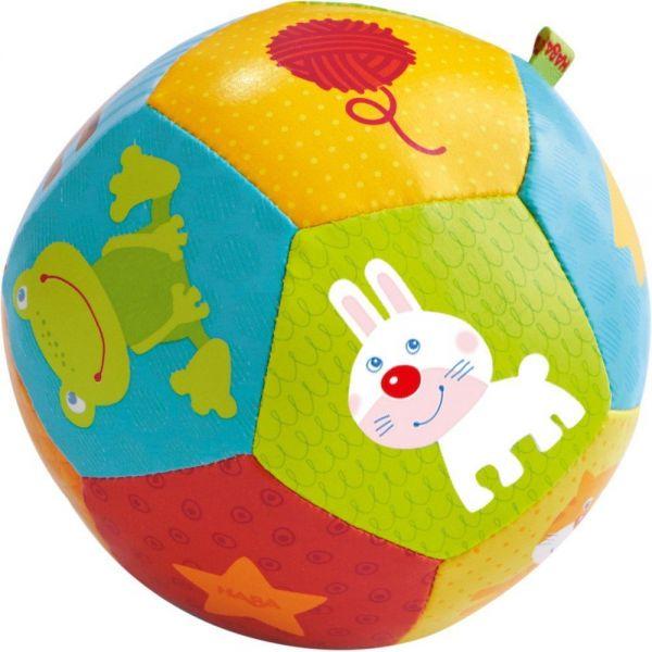 HABA 302484 - Baby-Ball - Tierfreunde