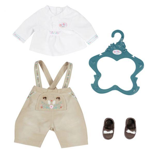 Zapf Creation 828755 - BABY born® - Trachten-Outfit Junge, 43cm