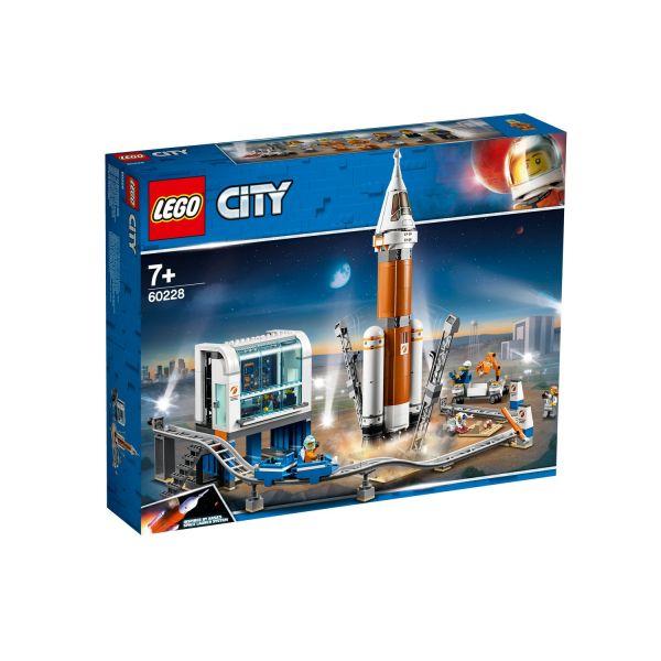 LEGO 60228 - City Weltraumhafen - Weltraumrakete mit Kontrollzentrum