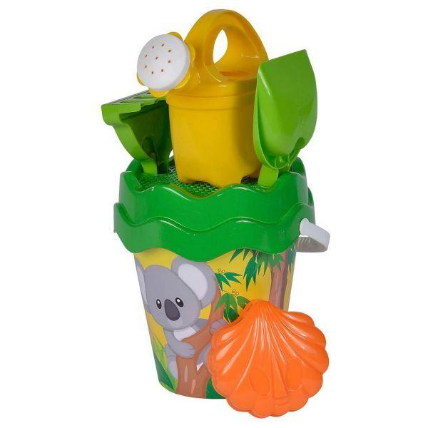 Simba 107114510 - Sandspielzeug - Eimergarnitur Set Koala, 6 Teile