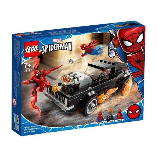 LEGO 76173 - Marvel Super Heroes™ - Spider-Man und Ghost Rider vs Carnage