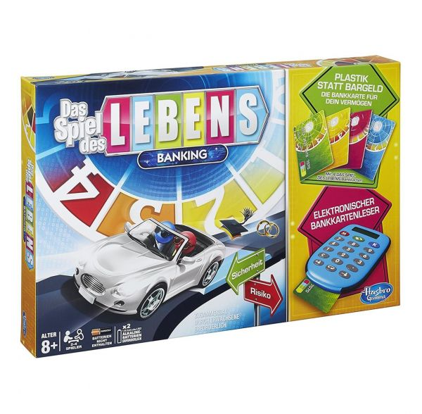 HASBRO A6769398 - Familienspiel - Das Spiel des Lebens Banking