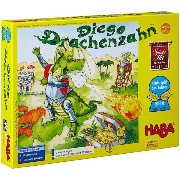 HABA 4319 - Kinderspiel - Diego Drachenzahn, Kinderspiel des Jahres 2010