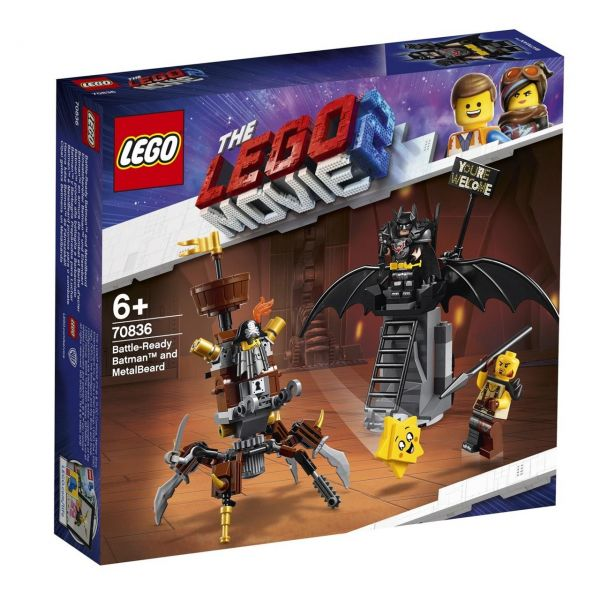 LEGO 70836 - The Lego Movie 2 - Einsatzbereiter Batman und EisenBart