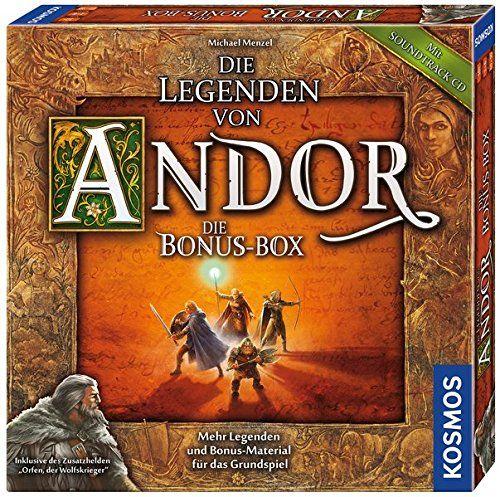 KOSMOS 694074 - Strategiespiel - Die Legenden von Andor, Bonus Box