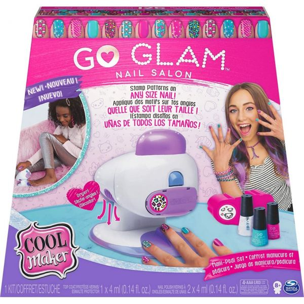 Spin Master 28536 - Cool Maker - Go Glam Nails 2 in 1 Salon