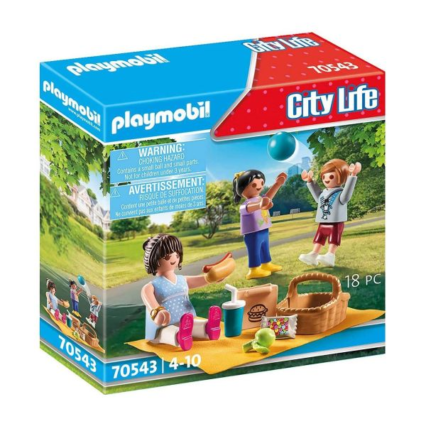 PLAYMOBIL 70543 - City Life, Meine kleine Stadt - Im Stadtpark
