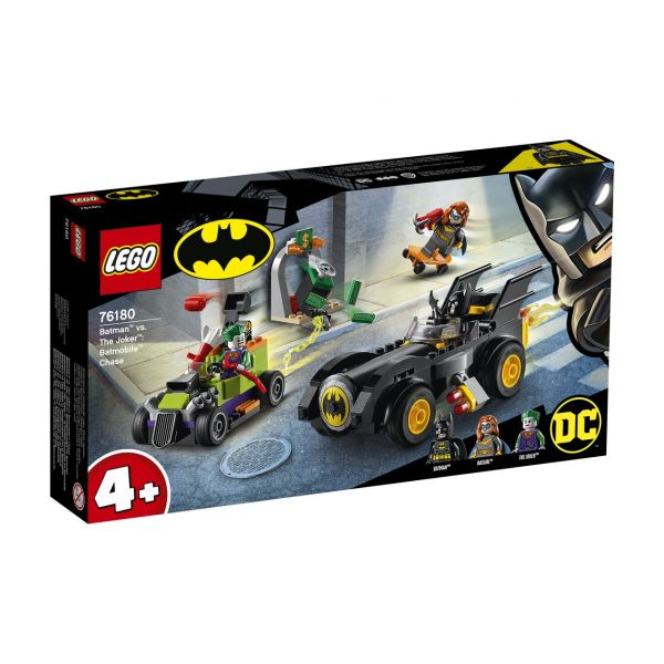LEGO 76180 - DC Universe Super Heroes™ - Batman™ vs. Joker™: Verfolgungsjagd im Batmobil