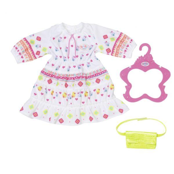 Zapf Creation 830185 - BABY born® - Trendy Boho Kleid, 43cm