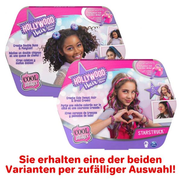 Spin Master 30993 - Cool Maker - Hollywood Hair Styling Pack, 1 Stk, zufällig
