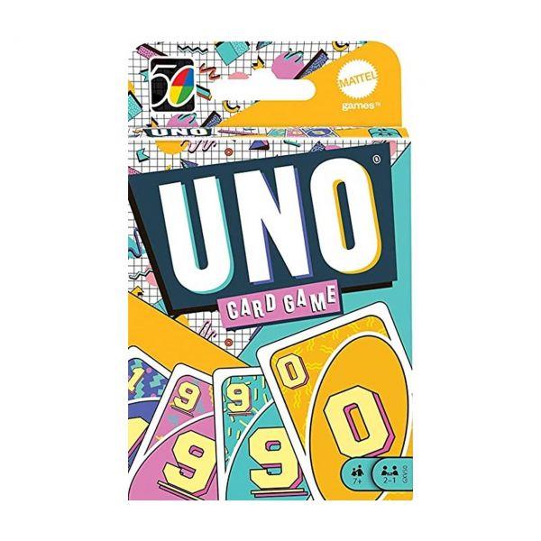 MATTEL GXV50 - Kartenspiel - UNO Iconic 90's