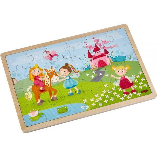HABA 303187 - Holzpuzzle - Prinzessinnen