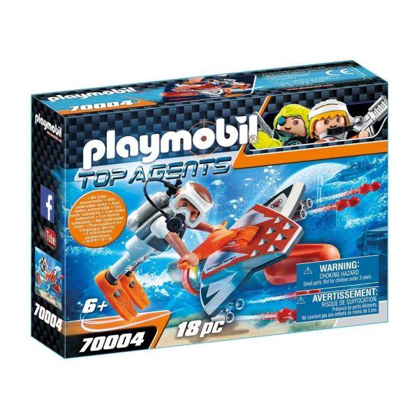 PLAYMOBIL 70004 - Top-Agents - SPY TEAM Underwater Wing