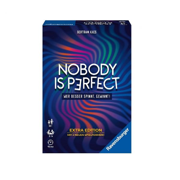 RAVENSBURGER 26846 - Gesellschaftsspiel - Nobody is Perfect Extra Ed