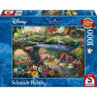 SCHMIDT 59636 - Puzzle - Disney, Alice im Wunderland,  1000 Teile