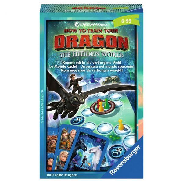 RAVENSBURGER 23466 - Mitbringspiel - Dragons 3: Die verborgene Welt