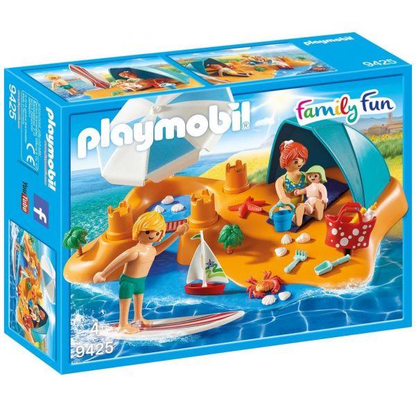 PLAYMOBIL 9425 - Family Fun Ferienvilla - Familie am Strand