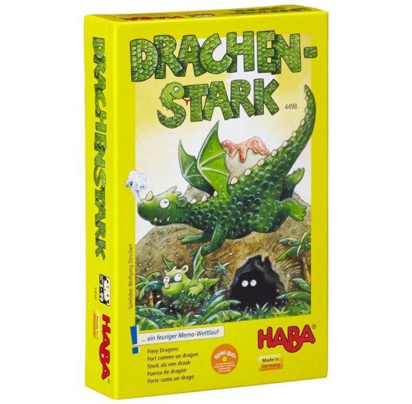 HABA 4498 - Mitbringspiel - Drachenstark, Gedächtnisspiel