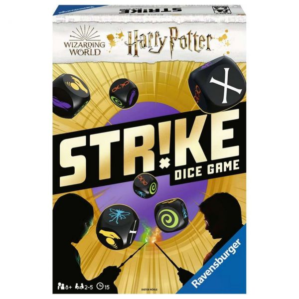 RAVENSBURGER 26839 - Würfelspiel - Harry Potter Strike