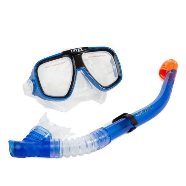 INTEX 55948 - AquaFlow Sport - Taucherbrille mit Schnorchel