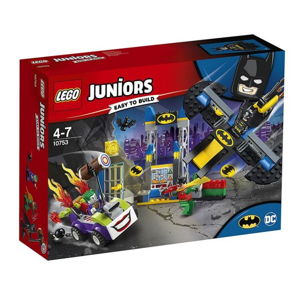 LEGO 10753 - Juniors - Der Joker und die Bathöhle