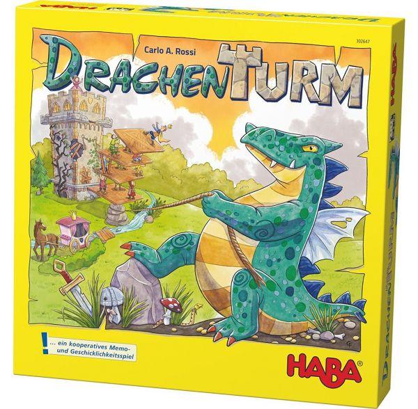 HABA 302647 - Gesellschaftsspiel - Drachenturm