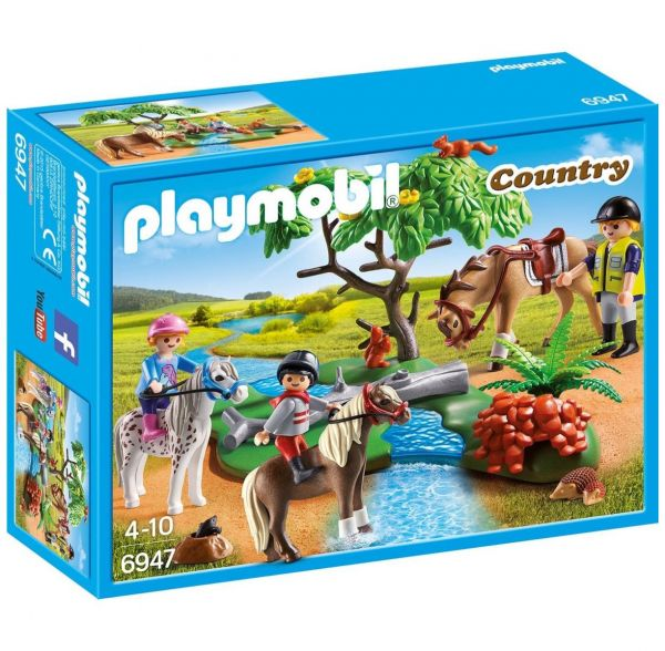PLAYMOBIL 6947 - Country Reiterhof - Fröhlicher Ausritt