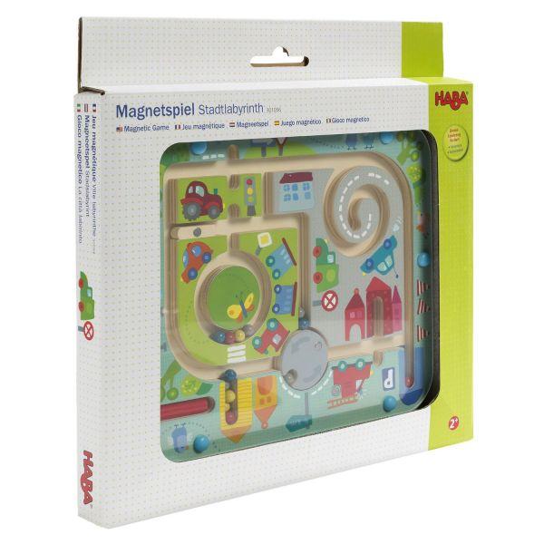 HABA 301056 - Magnetspiel - Stadtlabyrinth