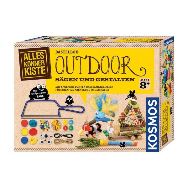 KOSMOS 604462 - Alles Könner Kiste - Outdoor Sägen und Gestalten