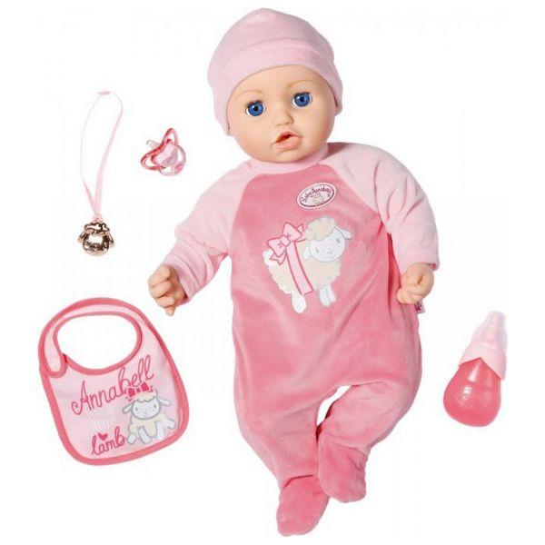 Zapf Creation 706299 - BABY Annabell® - Interaktive Puppe mit Schlafaugen