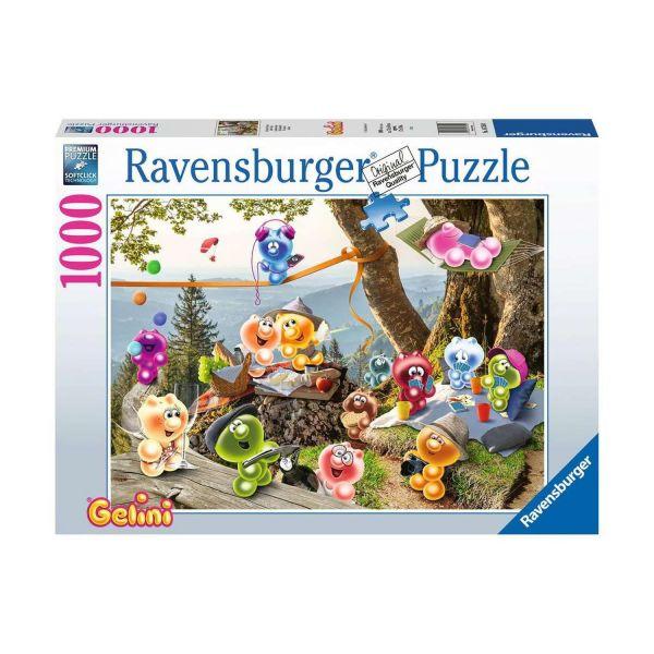 RAVENSBURGER 16750 - Puzzle - Gelini, Auf zum Picknick, 1000 Teile