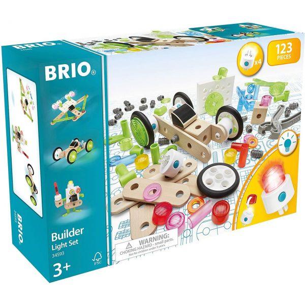 BRIO 34593 - Builder Licht-Konstruktionsset, 120tlg