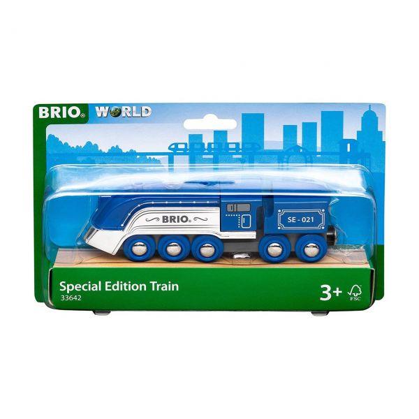BRIO 33642 - Züge - Blauer Dampfzug - Special Edition 2021