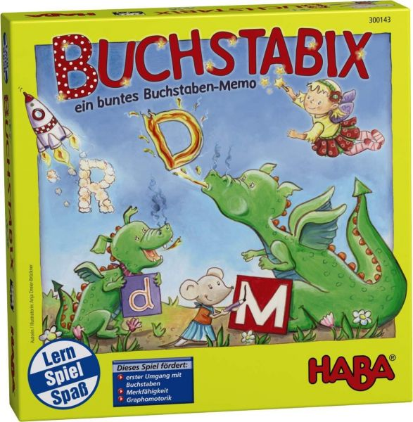 Haba 300143 Buchstabix